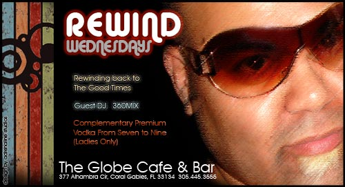 The Globe Cafe and Bar Wednesday Ladies Nights DJ 360MIX